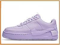 23a9ac3b Женские кроссовки Nike Air Force 1 Jester Violet Mist (найк аир форс  джестер низкие,