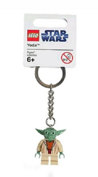 Lego Star Wars Брелок Мастер Йода 852550