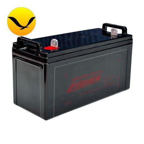 AGM аккумулятор Fisher 120a/h (Тяговый аккумулятор Фишер);