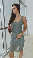 Платье женское Glo-Story серое