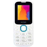 Мобильный телефон Nomi i184 (White-Blue)