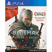 Ведьмак 3 Дикая Охота PlayStation 4 диск Blu-ray