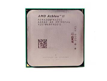 Процессор AMD Athlon II X4 620 2.6GHz/2M/2000 (ADX620WFK42GI) sAM3, tray