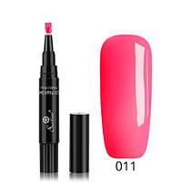 Лак-маркер для ногтей, однофазный гель-лак One step, розовый 011