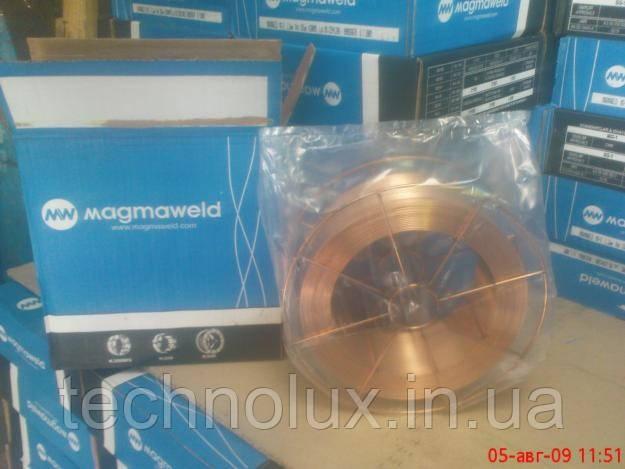 Омедненная, сварочная проволока Св08г2с, MAGMAWELD ф1,2 15кг