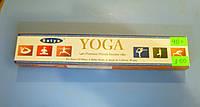 Благовония, аромапалочки натуральные, ЙОГА премиум, Сатья. Satya Premium Yoga
