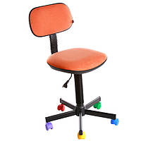 Кресло детское Новый Стиль Bambo GTS CH AB-17 оранжевое