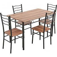 Комплект Визит-2 Underprice (UP!) Стол обеденный со стульями 4 шт