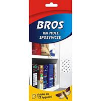Лента липкая Bros против пищевой моли 2 шт
