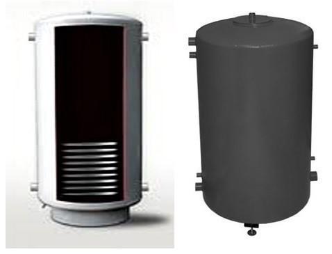 Аккумулирующая емкость Termico 1400л с теплообменником 6/12/18 кВт без изоляции
