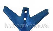 Лапа стрілчаста Н043.052.008 (КПС, КРН) 330мм борированная сталь