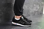 Мужские кроссовки Adidas La Trainer (черные), фото 2