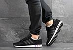 Мужские кроссовки Adidas La Trainer (черные), фото 3