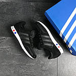Мужские кроссовки Adidas La Trainer (черные), фото 4