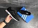 Мужские кроссовки Adidas La Trainer (черные), фото 5
