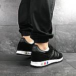 Мужские кроссовки Adidas La Trainer (черные), фото 6