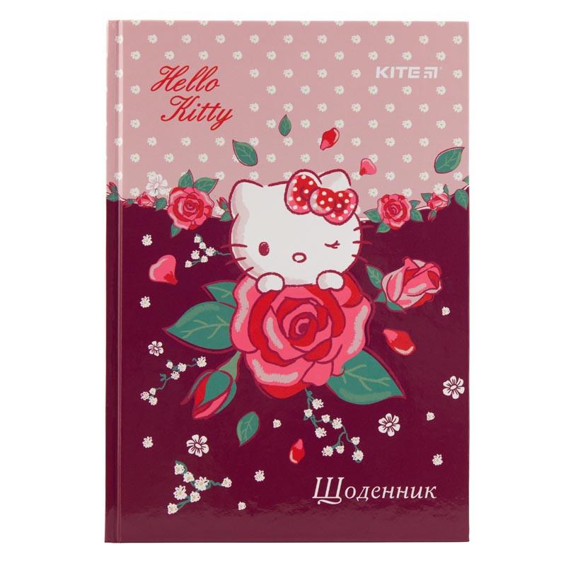 Дитячий Шкільний Щоденник Kite Hello Kitty, Тверда Обкладинка (HK19-262-1)