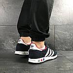 Мужские кроссовки Adidas La Trainer (темно-синие с белым), фото 3