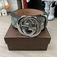 Belt Gucci With G Buckle GG Supreme О