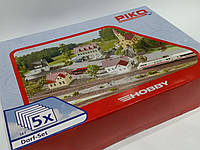 Piko 61925 Набор строений 5 в 1м (Город), для масштаба 1:87,H0, фото 1