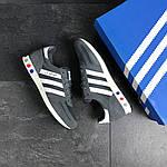 Мужские кроссовки Adidas La Trainer (серые), фото 2