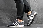 Мужские кроссовки Adidas La Trainer (серые), фото 3