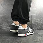 Мужские кроссовки Adidas La Trainer (серые), фото 6