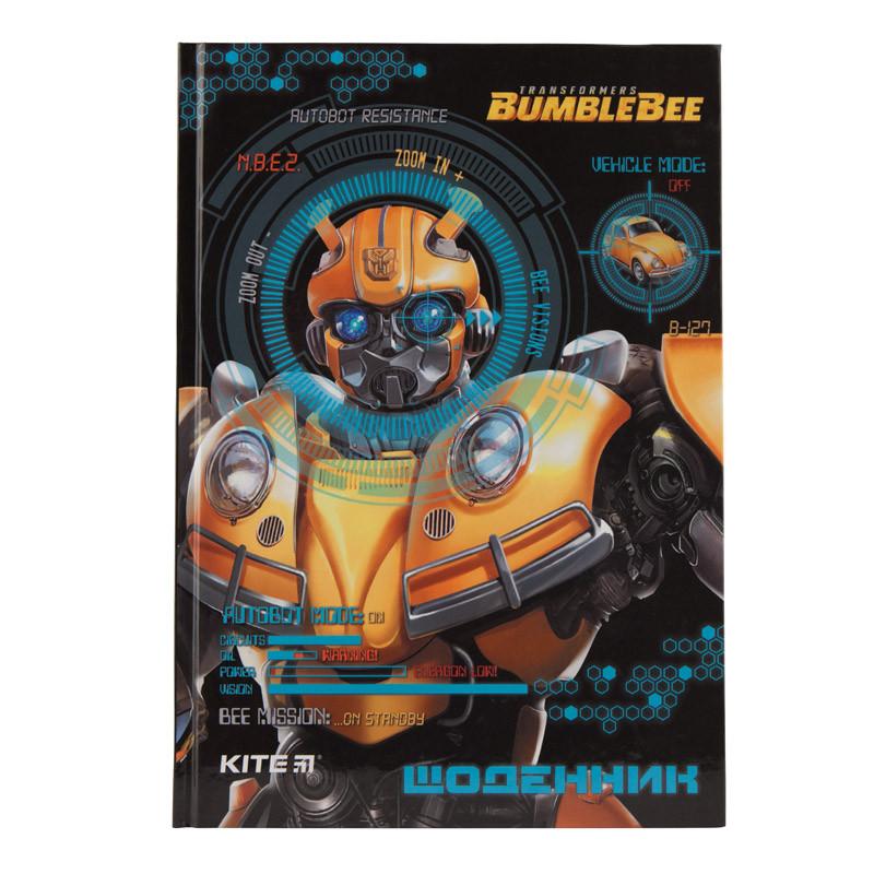 Детский Школьный Дневник Kite Transformers, Твердая Обложка (TF19-262-1)