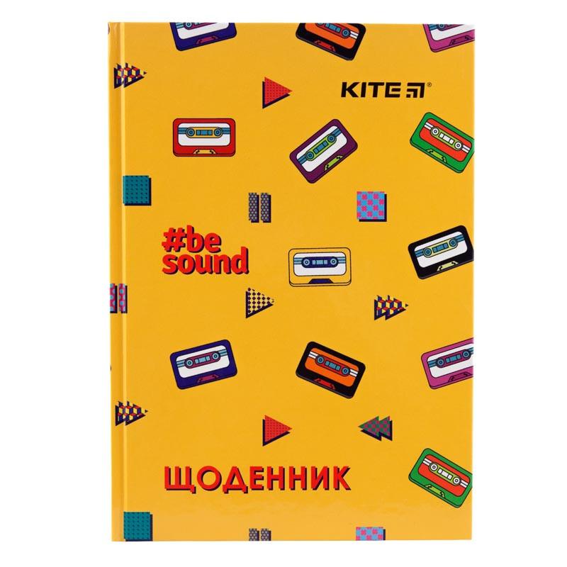 Детский Школьный Дневник Kite BeSound, Твердая Обложка (K19-262-9)