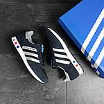 Мужские кроссовки Adidas La Trainer (темно-синие с серым), фото 2
