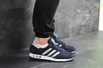 Мужские кроссовки Adidas La Trainer (темно-синие с серым), фото 3