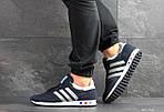 Мужские кроссовки Adidas La Trainer (темно-синие с серым), фото 6