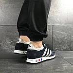 Мужские кроссовки Adidas La Trainer (темно-синие с серым), фото 4