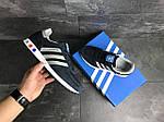 Мужские кроссовки Adidas La Trainer (темно-синие с серым), фото 5