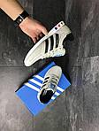 Мужские кроссовки Adidas La Trainer (бежевые), фото 2