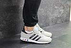 Мужские кроссовки Adidas La Trainer (бежевые), фото 3