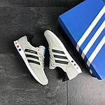 Мужские кроссовки Adidas La Trainer (бежевые), фото 5