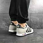 Мужские кроссовки Adidas La Trainer (бежевые), фото 4
