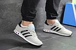 Мужские кроссовки Adidas La Trainer (бежевые), фото 6