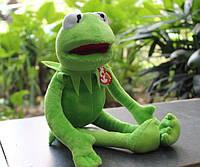 Мягкая игрушка лягушонок Кермит из Маппет Шоу, 40 см / Игрушка Лягушка