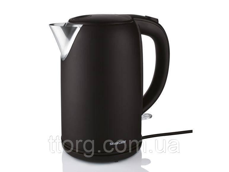 Чайник Silver Crest SWKS 2400 D1 black (матовый, без отпичатков пальцев)