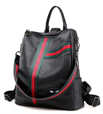 Рюкзак-сумка городской женский Черный