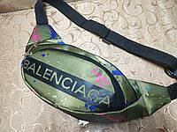 Сумка на пояс balenciaga Ткань Принт спортивные барсетки сумка только опт, фото 1