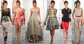 Индивидуальный пошив платья под заказ! А также виды тканей их различие