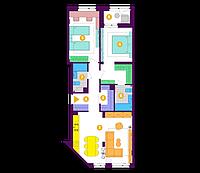 Планування 2XL 83,80м²