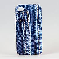Чехол из высококачественного силикона для Iphone 4/4S  Jeans