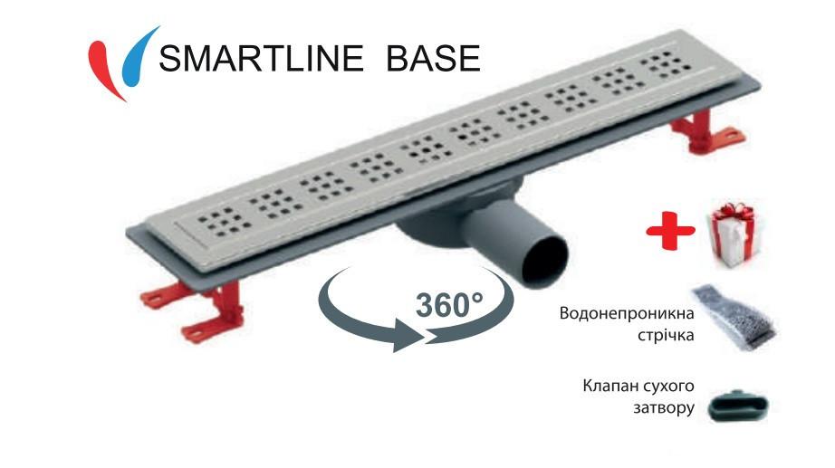 Трап для душа VALTEMO SMARTLINE BASE 600 мм  VLD-540320