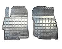 Полиуретановые передние коврики для Mitsubishi Lancer X 2007-2016 (AVTO-GUMM)