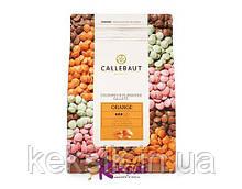 Шоколад оранжевый Callebaut  со вкусом апельсина 0,1 кг