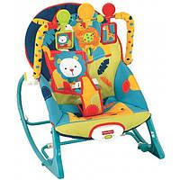 Крісло качалка, шезлонг,Fisher-Price , Dark Safari, фото 1